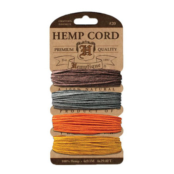 Hemp Cord Card, Harvest