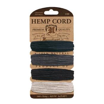 Hemp Cord Card, Birds of a Feather