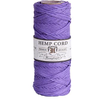 Hemp Cord, Lavender Spool 205'