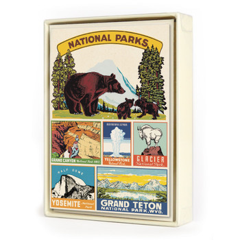 Boxed Notecards, National Parks