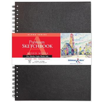 Alpha Series Wirebound Sketchbooks