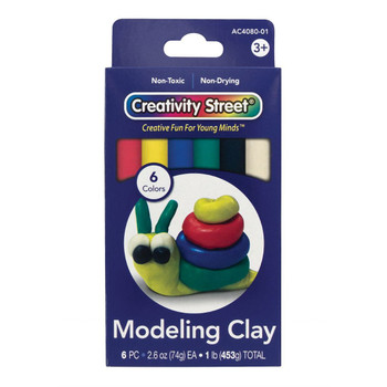 Modeling Clay, 6 Colors