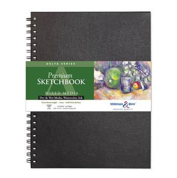 Delta Series Wirebound Sketchbooks