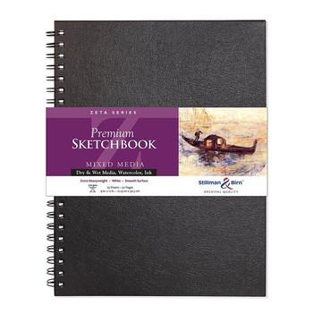Zeta Series Wirebound Sketchbook
