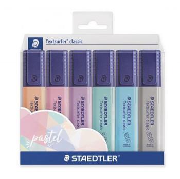 Textsurfer Pastel Highlighters, Set of 6