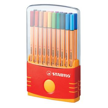 Point 88 Pen Color Parade, Set of 20
