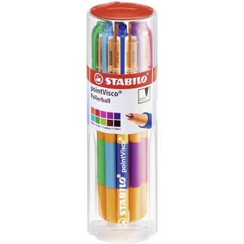 PointVisco Rollerball Pens, 10 Set