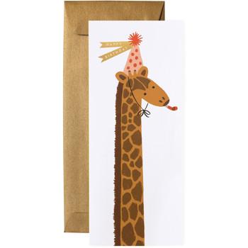 Birthday Giraffe Card