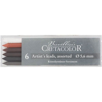 Cretacolor Assorted Leads, 6 Pack