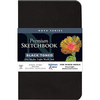 Nova Softcover Sketchbooks, Black