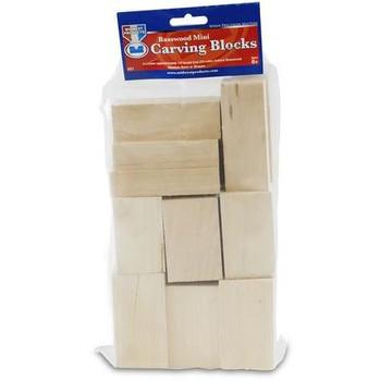Basswood Carving Blocks Bag