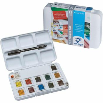 van Gogh Watercolor Pocket Box