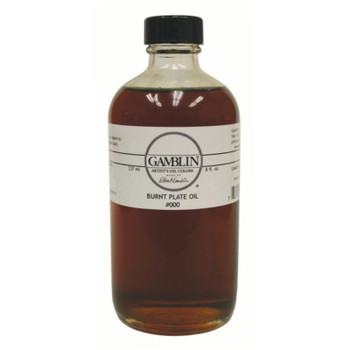 Gamblin Burnt Plate Oils