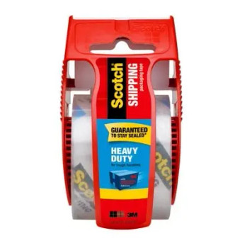 Scotch Heavy Duty Packaging Tape With Dispenser