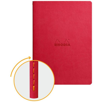 Rhodia Dot Grid Notebook, Poppy