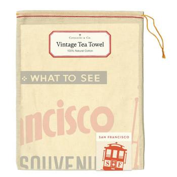 Vintage Tea Towel, San Francisco