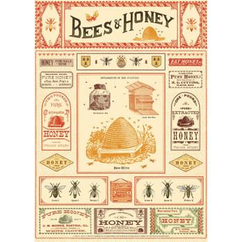 Cavallini Paper, Bees & Honey