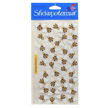 Buzzing Bees Stickers