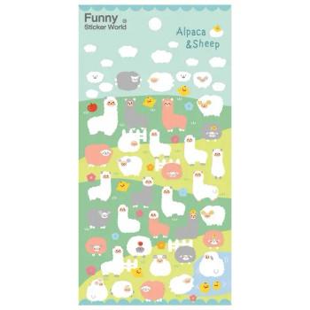 Alpaca & Sheep Stickers