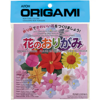 Origami Flower Paper, 45 Pack