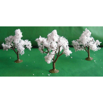Blossoming Cherry Trees, 3 Pack