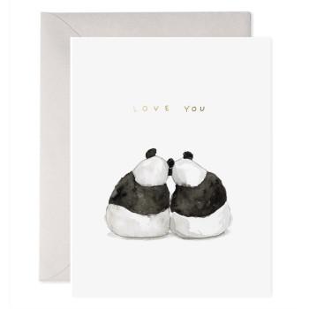 Panda Pair Card