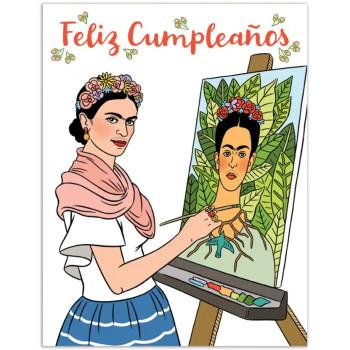 Frida Feliz Cumpleaños Card