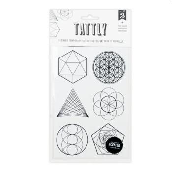 Sacred Geometry Temporary Tattoos