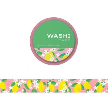 Lemon Trees Washi Tape