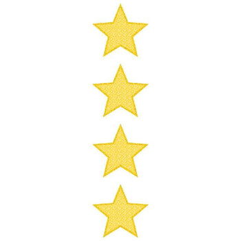 Large Gold Star Stickers