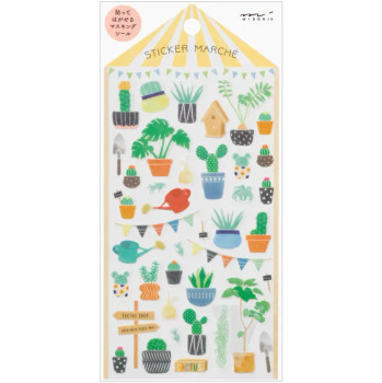 Marché Cactus Stickers