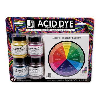 Acid Dye 4-Color Set