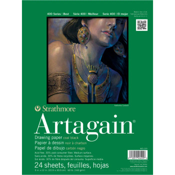 "Strathmore Artagain Pad, 12"" x 18"""