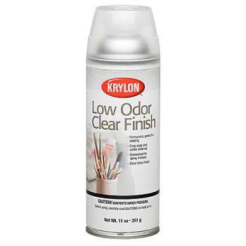 Krylon Low Odor Clear Finish