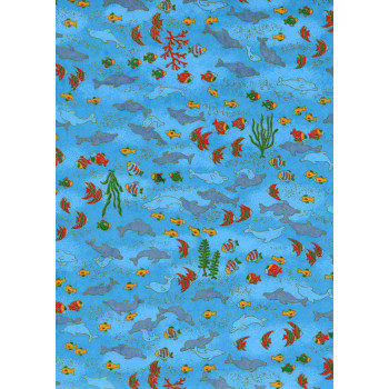 Chiyogami Paper, Under the Sea