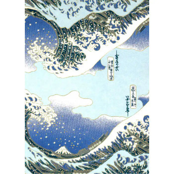 Chiyogami Paper, Wave