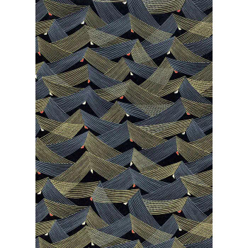 Chiyogami Paper, Chevron