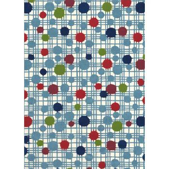 Katazome-Shi Paper, Multi Colored Dots