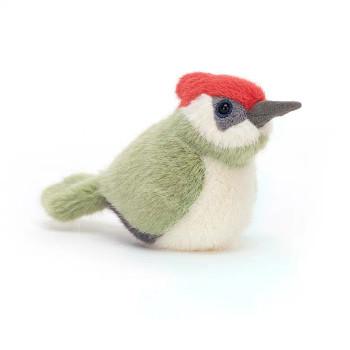 Jellycat Birdling Woodpecker, Small