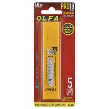 OLFA LB Silver Snap Blades, 18mm