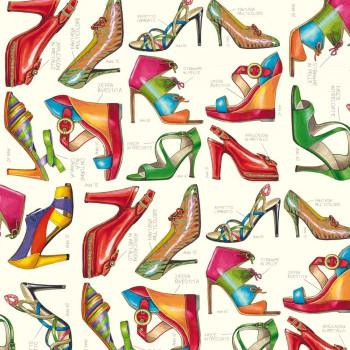 Rossi 1931 Decorative Paper, Fashion Shoes