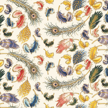 Rossi 1931 Decorative Paper, Feathers