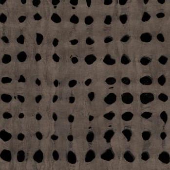 Black Ink Paper, Amate Weave Brown