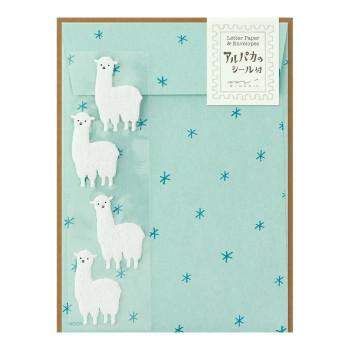 Midori Alpaca Stationary Set