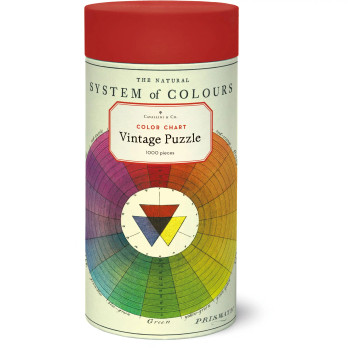 Jigsaw Puzzle, Color Wheel