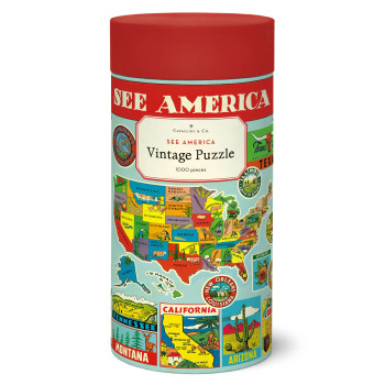 Jigsaw Puzzle, See America