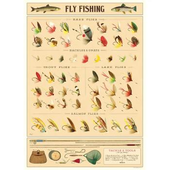 Cavallini Paper, Fly Fishing