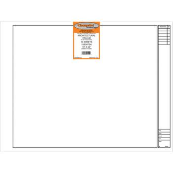 Clearprint Architectural Vellum, 10 Sheet Packs
