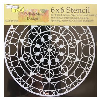 "Skylight Stencil, 6"" x 6"""