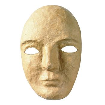 Paper Mache Full Mask